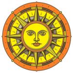 zonnekompas